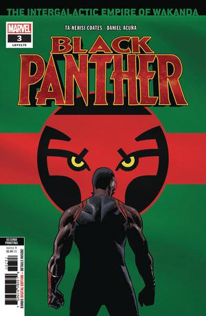 Black Panther Vol 7 #3 Cover D 2nd Ptg Variant Daniel Acuna Cover