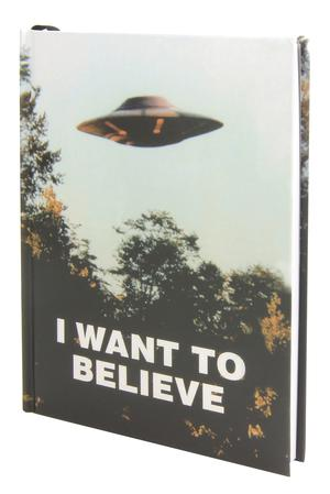 X-Files I Want To Believe Journal HC