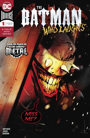 Batman Who Laughs #1 Cover A Regular Jock Cover