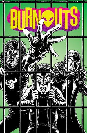 Burnouts #4 Cover A Regular Chris Burnham Cover