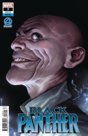 Black Panther Vol 7 #7 Cover B Variant Marko Djurdjevic Fantastic Four Villains Cover