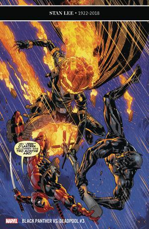 Black Panther vs Deadpool #3 Cover A Regular Ryan Benjamin & Rain Beredo Cover