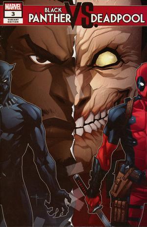 Black Panther vs Deadpool #3 Cover B Variant Ozgur Yildirim Cover