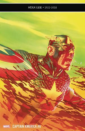Captain America Vol 9 #6 Cover A Regular Alex Ross Cover