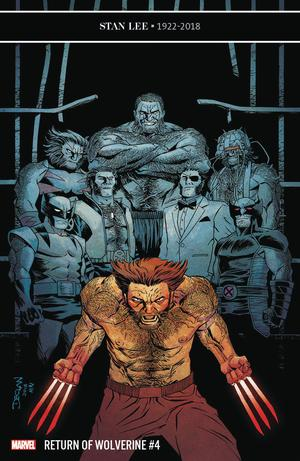 Return Of Wolverine #4 Cover B Variant Declan Shalvey Cover