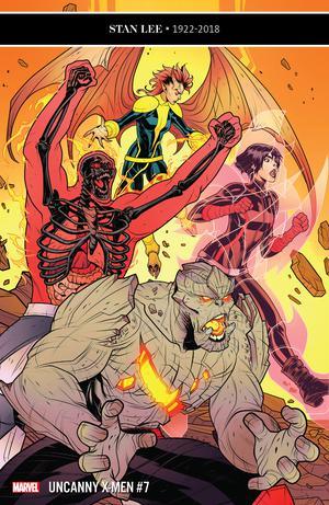 Uncanny X-Men Vol 5 #7 Cover A 1st Ptg Regular Elizabeth Torque Cover