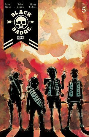 Black Badge #5 Cover A/B Regular Covers (Filled Randomly)