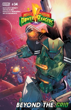Mighty Morphin Power Rangers (BOOM Studios) #34 Cover A Regular Jamal Campbell Cover