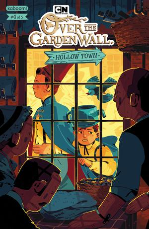 Over The Garden Wall Hollow Town #4 Cover A Regular Celia Lowenthal Cover