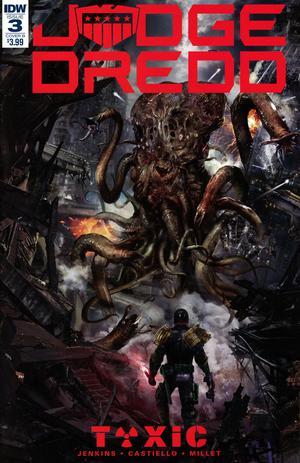 Judge Dredd Toxic #3 Cover B Variant John Gallagher Cover