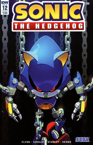 Sonic The Hedgehog Vol 3 #12 Cover A Regular Evan Stanley Cover