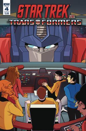Star Trek vs Transformers #4 Cover B Variant Priscilla Tramontano Cover