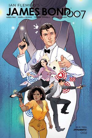 James Bond 007 #2 Cover B Variant Marguerite Sauvage Cover