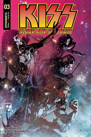 KISS Blood And Stardust #3 Cover A Regular Stuart Sayger Cover