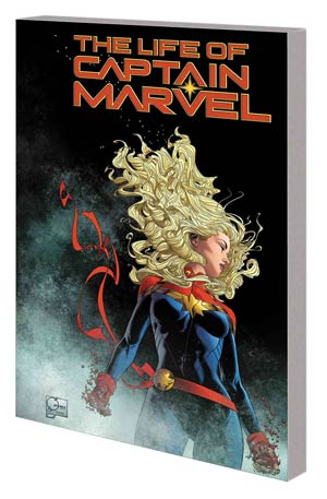 Life Of Captain Marvel TP Direct Market Joe Quesada Variant Cover