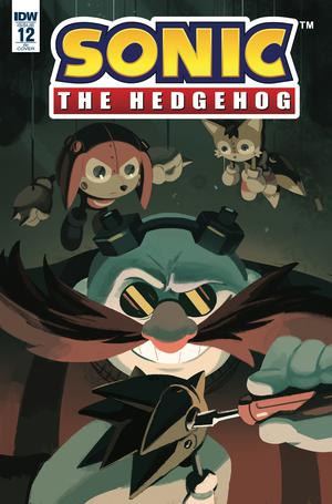 Sonic The Hedgehog Vol 3 #12 Cover C Incentive Nathalie Fourdraine Variant Cover