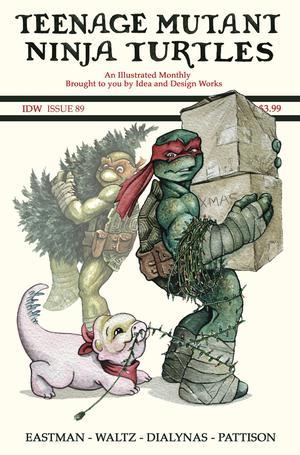 Teenage Mutant Ninja Turtles Vol 5 #89 Cover C Incentive Jody Edward Variant Cover