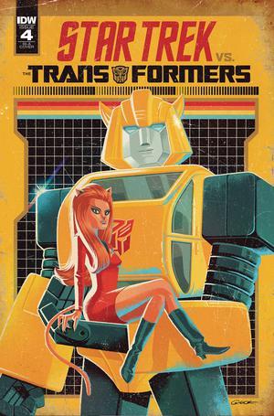 Star Trek vs Transformers #4 Cover C Incentive George Caltsoudas Variant Cover