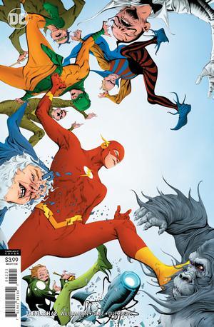 Flash Vol 5 #62 Cover B Variant Jae Lee Cover