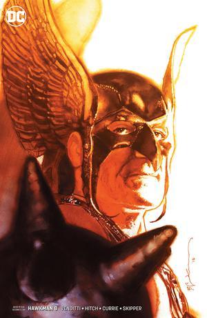 Hawkman Vol 5 #8 Cover B Variant Bill Sienkiewicz Cover