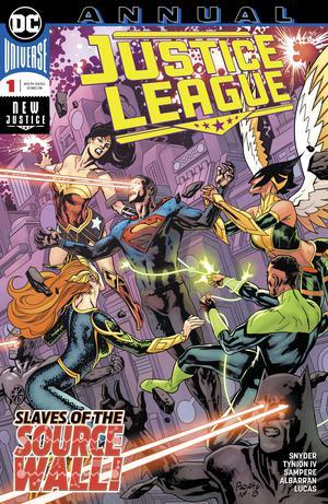 Justice League Vol 4 Annual #1