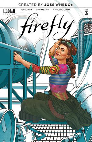 Firefly #3 Cover B Variant Joe Quinones Preorder Cover