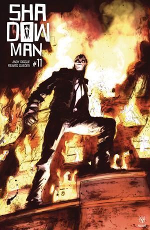Shadowman Vol 5 #11 Cover B Variant Keron Grant Cover
