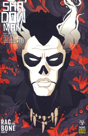 Shadowman Vol 5 #11 Cover D Variant Hannah Fisher Cover