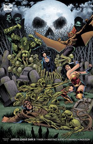 Justice League Dark Vol 2 #8 Cover B Variant Kelley Jones Cover