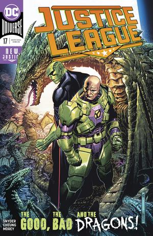 Justice League Vol 4 #17 Cover A Regular Jim Cheung Cover