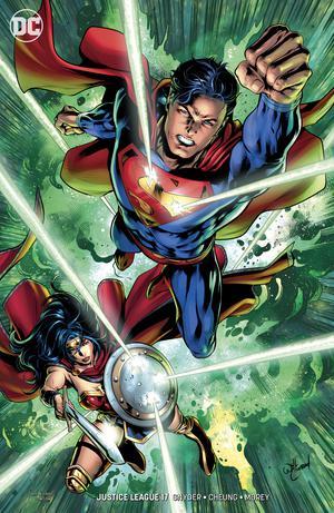 Justice League Vol 4 #17 Cover B Variant Will Conrad Cover