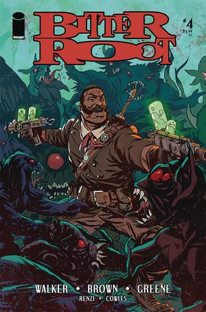 Bitter Root #4 Cover A Regular Sanford Greene Cover