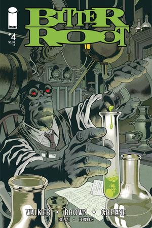 Bitter Root #4 Cover C Variant Kevin Nowlan Cover