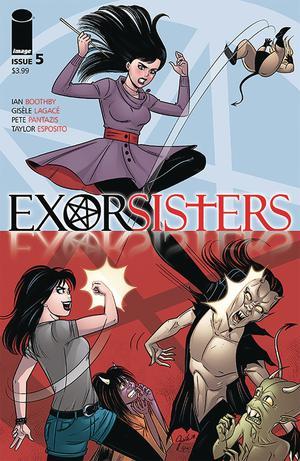 Exorsisters #5 Cover A Regular Gisele Lagace & Pete Pantazis Cover