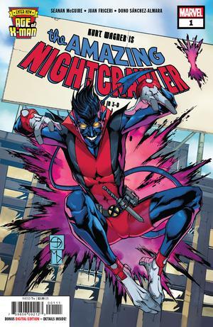 Age Of X-Man Amazing Nightcrawler #1 Cover A Regular Shane Davis Michelle Delecki Federico Blee Cover
