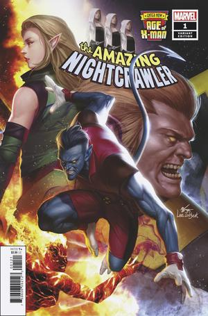 Age Of X-Man Amazing Nightcrawler #1 Cover B Variant Inhyuk Lee Connecting Cover