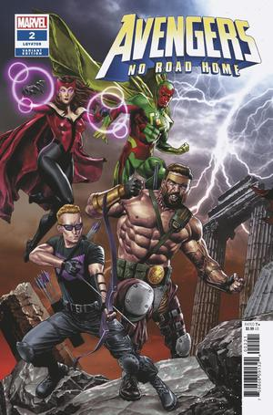 Avengers No Road Home #2 Cover B Variant Mico Suayan Connecting Cover (2 Of 3)