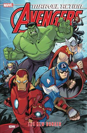Marvel Action Avengers Book 1 New Danger TP