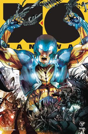 X-O Manowar Vol 4 #25 Cover B Variant Leo Colapietro Cover