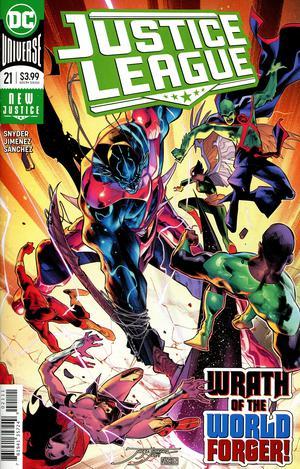 Justice League Vol 4 #21 Cover A Regular Jorge Jimenez Cover