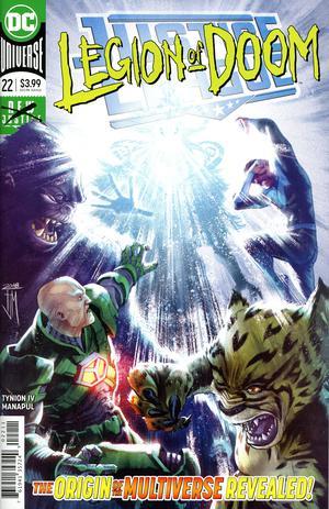 Justice League Vol 4 #22 Cover A Regular Francis Manapul Cover