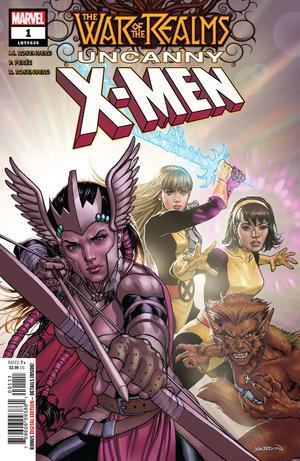 War Of The Realms Uncanny X-Men #1 Cover A Regular David Yardin Cover