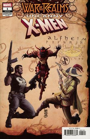 War Of The Realms Uncanny X-Men #1 Cover B Variant Giuseppe Camuncoli Cover