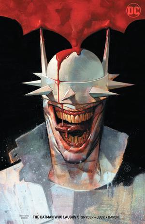 Batman Who Laughs #5 Cover B Variant Viktor Kalvachev Cover