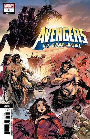 Avengers No Road Home #6 Cover H 2nd Ptg Variant Sean Izaakse Cover