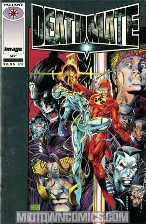 Deathmate Prologue Cover A Silver Foil