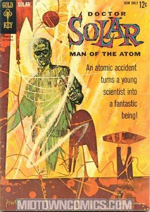 Doctor Solar Man Of The Atom #1