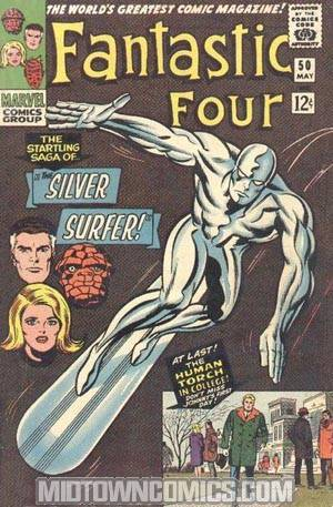 Fantastic Four #50