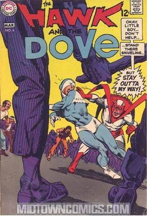 Hawk And The Dove #4