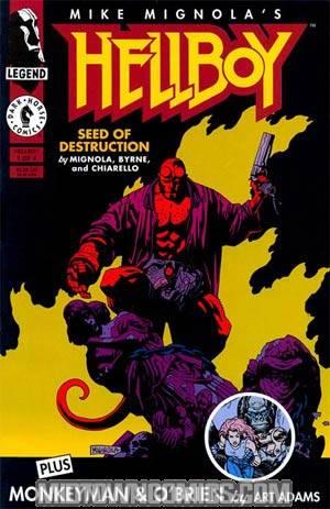 Hellboy Seed Of Destruction #1